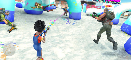 Paintball Shooting Games 3D apkpoly screenshots 12