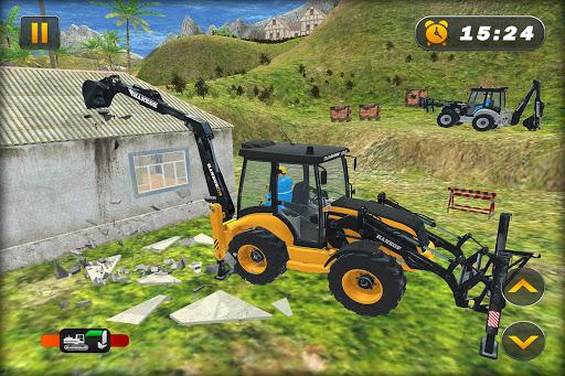 Heavy Excavator Crane Simulator Construction Games apkdebit screenshots 5