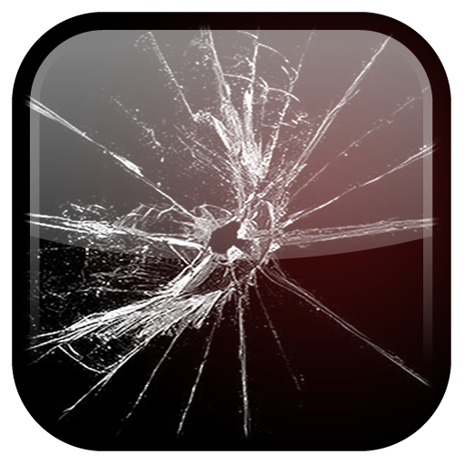 Cracked Screen Live Wallpaper (Simulation)