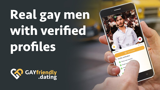 Gay guys chat & dating app - GayFriendly.dating 1.45 APK screenshots 5