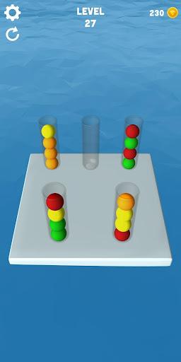 Sort Balls 3D - Free puzzle games  screenshots 2