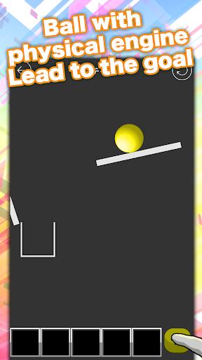 easy physics puzzle ball doon! apktreat screenshots 2