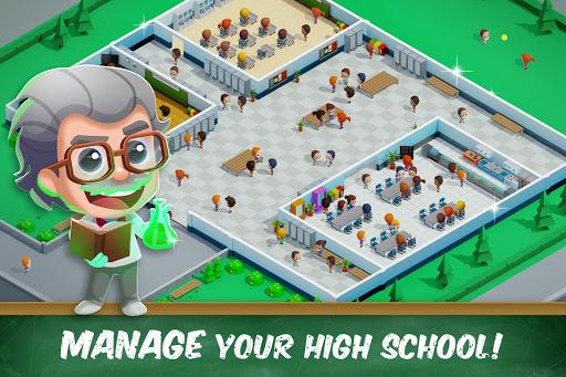 Idle High School Tycoon - Management Game apkdebit screenshots 8