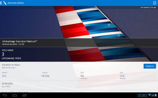 American Airlines modavailable screenshots 7