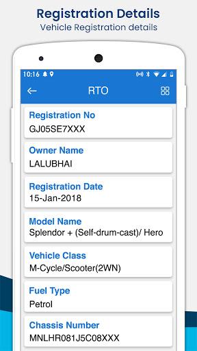 RTO Vehicle Information apktram screenshots 2