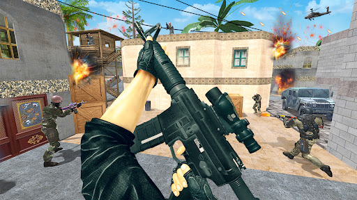 Gun Shooting Games: fps shooting commando strike  screenshots 7