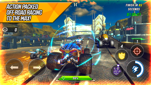 RACE: Rocket Arena Car Extreme apklade screenshots 1