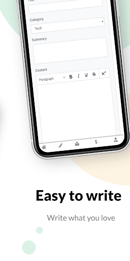 Articlly - Write & Earn  screenshots 2