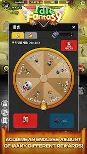 Idle Fantasy MOD APK: Merge clicker RPG (Unlimited Money) 2