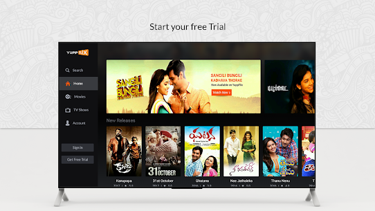 YuppFlix –Indian Movies and Shows for AndroidTV 3