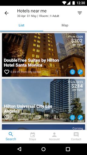 Hilton Honors: Book Hotels android2mod screenshots 3