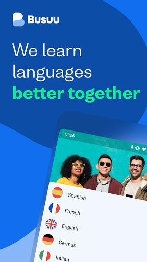 Busuu: Learn Languages - Learn Spanish, French Etc 20.0.1.518 Screenshots 1