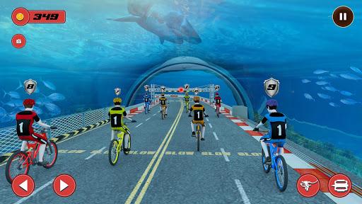 Underwater Stunt Bicycle Race Adventure  screenshots 2