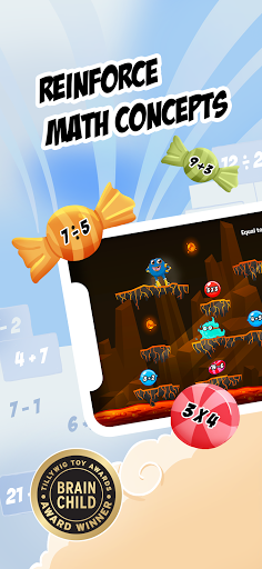 Monster Math 2: Fun Math Games. Kids Grade K-5 1143 screenshots 4