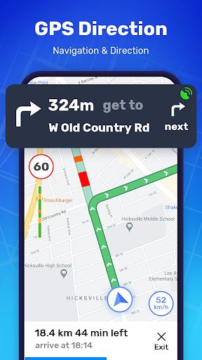 GPS Route Finder - GPS Location, Map Navigation apktram screenshots 2