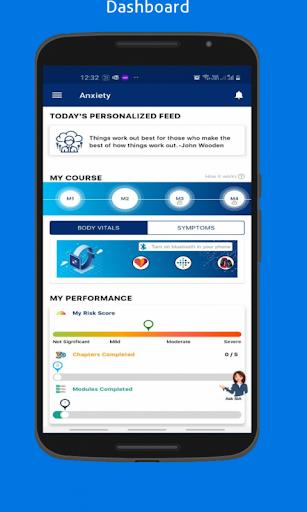 BeSerene   Mind Training and Stress Management App screenshot 1