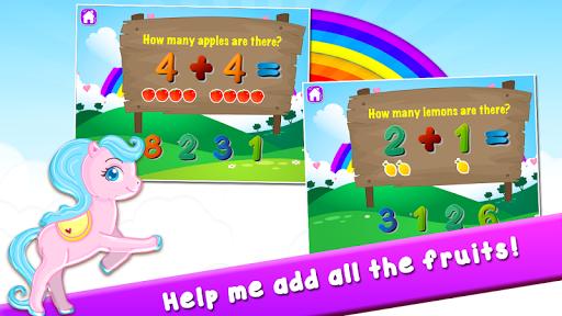Pony Learns Preschool Math 3.32 screenshots 2