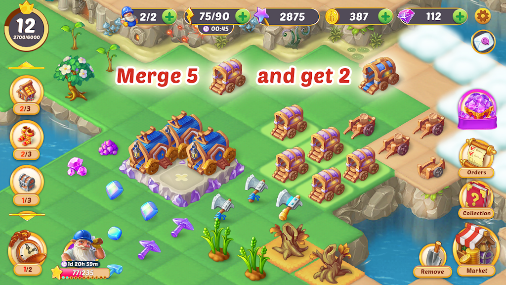 EverMerge: Merge 3 Puzzle poster 22