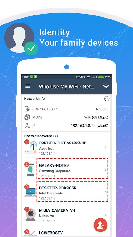 Who Use My WiFi - Network Scanner (Pro)  poster 3
