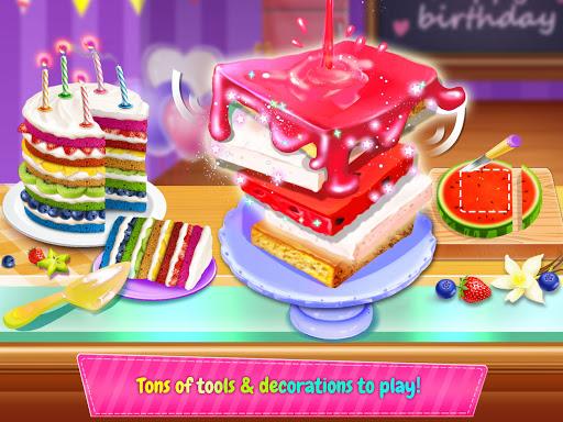 Birthday Cake Design Party - Bake, Decorate & Eat! 1.6 screenshots 8