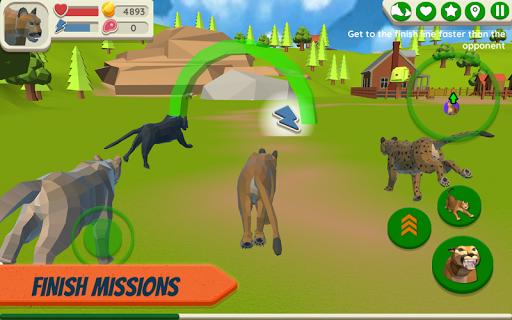 Cougar Simulator: Big Cat Family Game Apkfinish screenshots 2