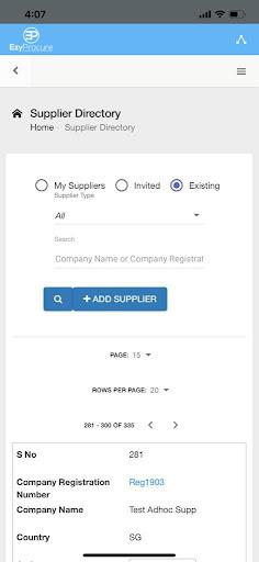 EzyProcure Global screenshot 3
