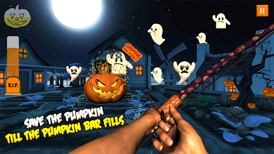 Ghosts & Witches Hunting to Save Halloween Pumpkin Hack Online [Android & iOS] 3