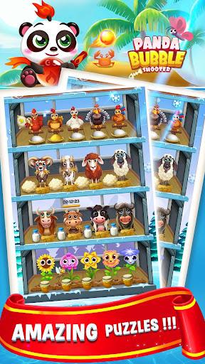 Bubble Shooter Sweet Panda apkpoly screenshots 4
