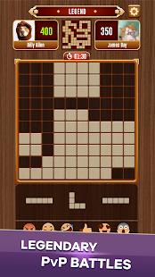 Woody Battle Block Puzzle Dual PvP