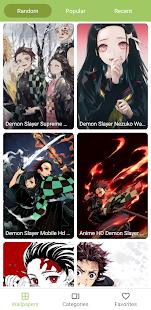 Demon Wallpaper slayer | Wallpaper live of Kimetsu