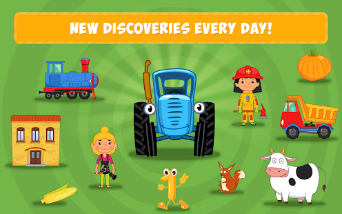 The Blue Tractor: Fun Learning Games for Toddlers 1.2.0 Screenshots 22