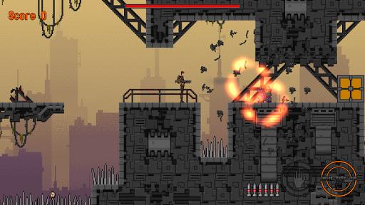 slip gear: 2d pixel platformer screenshot 2