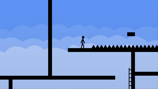 Stickman Parkour Game Screenshot