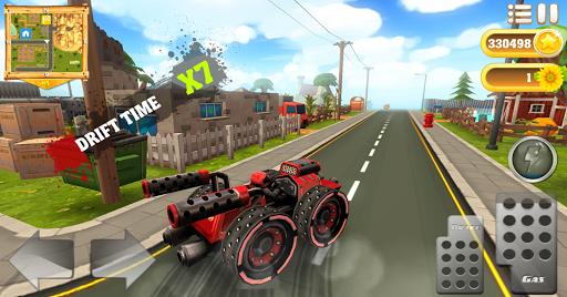 cartoon hot racer 3d premium screenshot 1