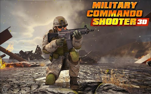 Military Commando Shooter 3D Screenshot