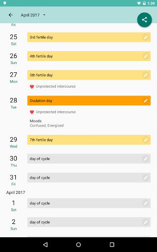 Period and Ovulation Tracker  Screenshots 12