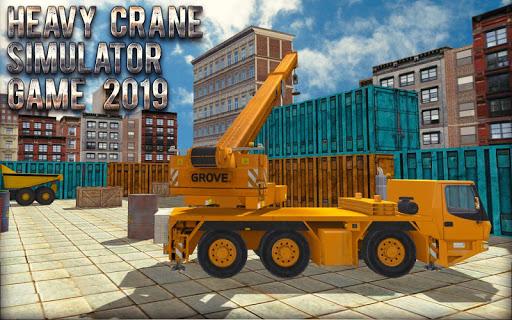 Heavy Crane Simulator Game 2019 u2013 CONSTRUCTIONu00a0SIM screenshots 6