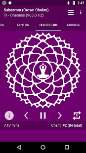Chakra Meditation Screenshot
