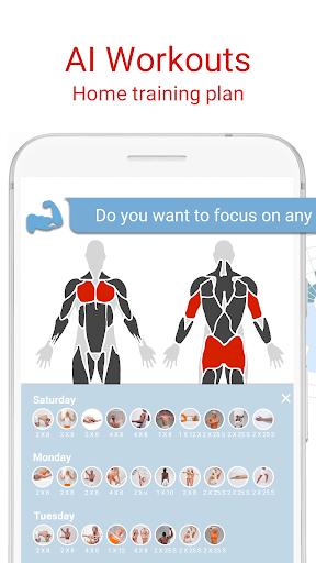 BodBot Personal Trainer:u00a0Workoutu00a0&u00a0Fitnessu00a0Coach 6.020 screenshots 1