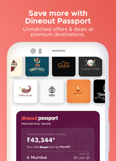 Dineout: Best Restaurant Offers, Deals & Events android2mod screenshots 4