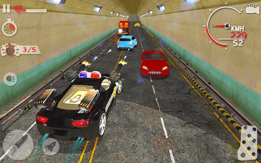 Police Highway Chase Racing Games - Free Car Games  screenshots 6