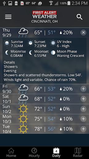 FOX19 First Alert Weather 5.0.1100 Screenshots 5