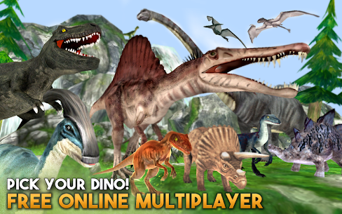 Dino World Online  For Pc – Free Download For Windows 7, 8, 8.1, 10 And Mac 2