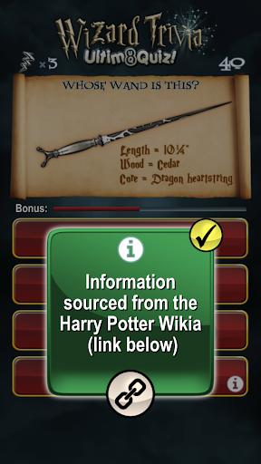 Harry Potter Wizard Quiz: U8Q 2.0.1 Screenshots 15