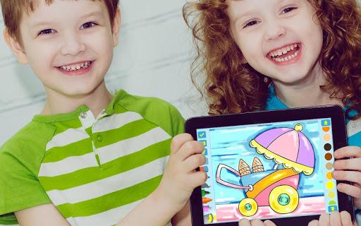 First Coloring book for kindergarten kids 3.0.1 screenshots 8