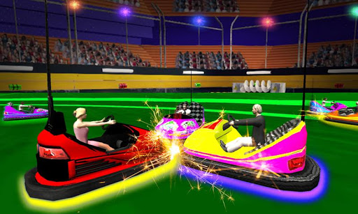 Light Bumping Cars Extreme Stunts: Bumper Car Game  screenshots 1
