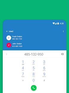 Line2 - Second Phone Number 5.3 Screenshots 5