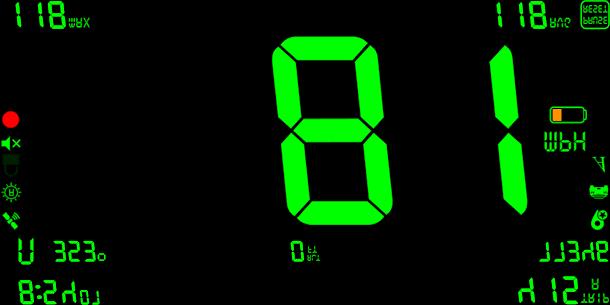 Free DigiHUD Pro Speedometer 2