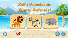 Kids Puzzles, Funny Animals #2 (full game)のおすすめ画像1