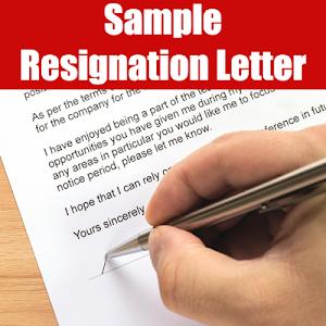 Resignation Letter Sample 20.0